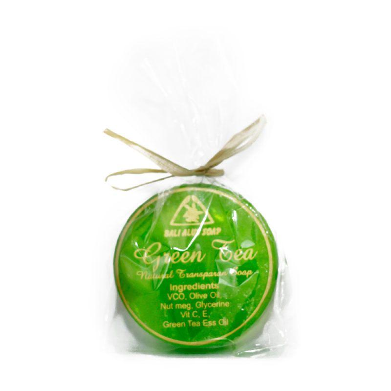 Bali Alus Sabun Sirih Transpa Wajah Green Tea 35 gr (Set of 2)