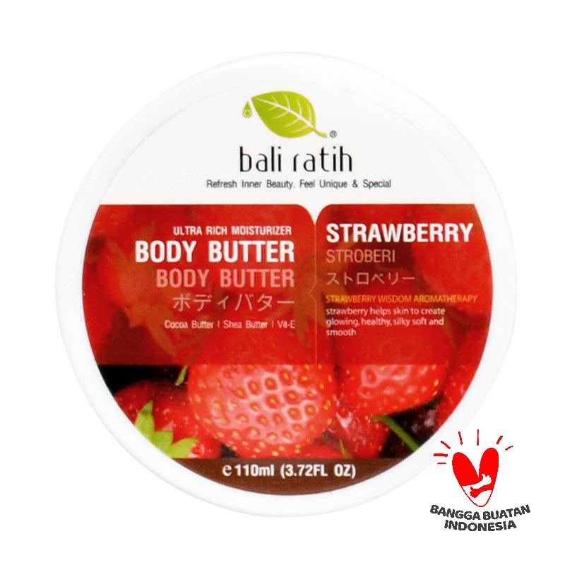 Bali Ratih Strawberry Body Butter