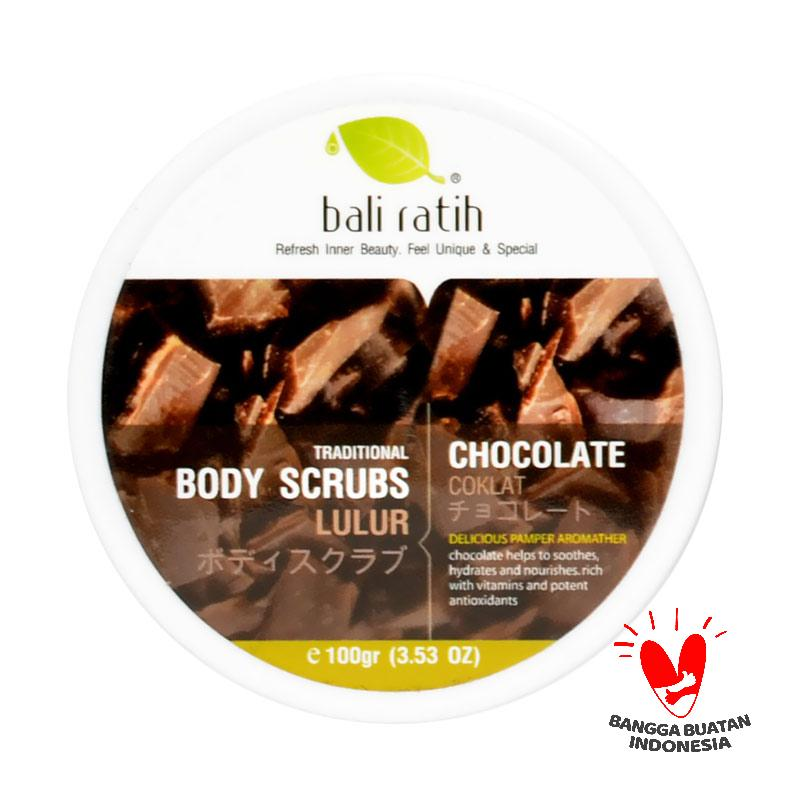 Bali Ratih Chocolate Body Scrub
