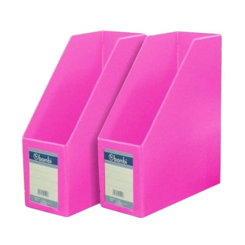 Bambi 1033 Magazine File Fluoro Pink Files Folio
