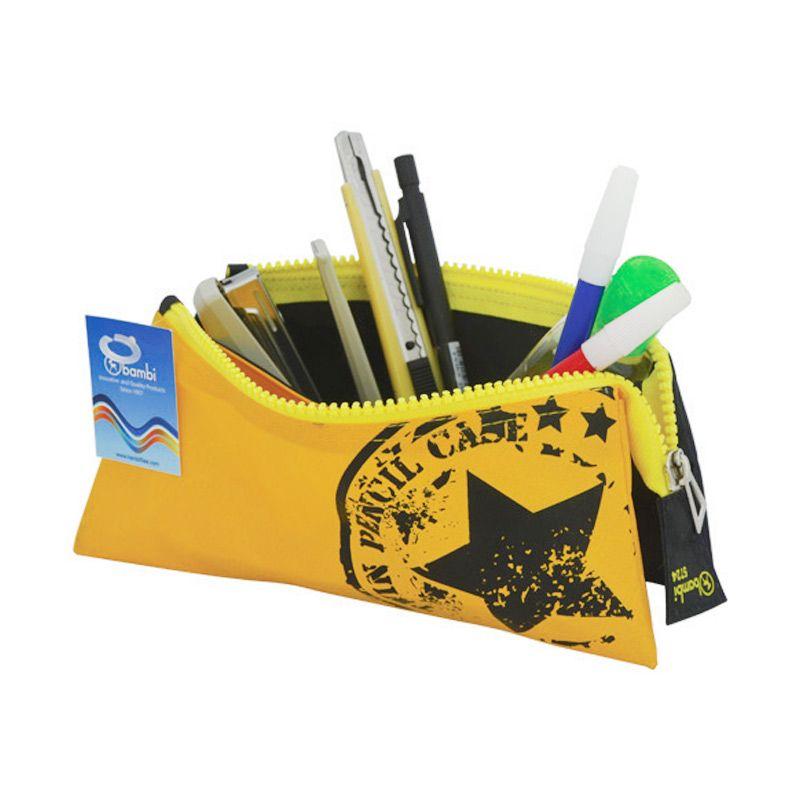 Bambi 5724 Twin Pencil Case Tempat Pensil