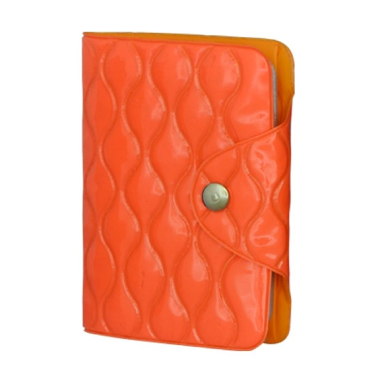 Bambi 6217 Orange Card Holder