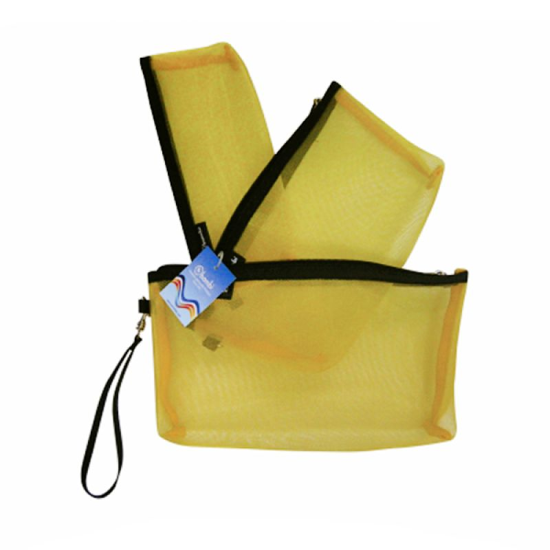 Bambi Orchid 7127 Kuning Pouch [3 in 1]