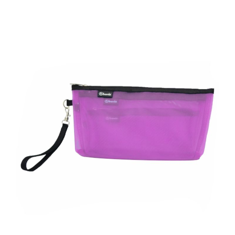 Bambi Orchid 7127 Pink Pouch [3 in 1]