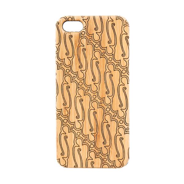 BatikGeek Bamboo Slim Version Parang Casing For Iphone 5/5s