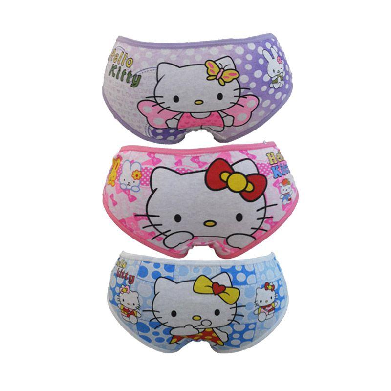 Bananana Karakter Hello Kitty Celana Dalam Anak [Set 3 Pcs]