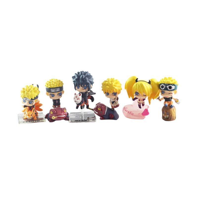Bandai Naruto Petit Chara Land Original Naruto Set Action Figure