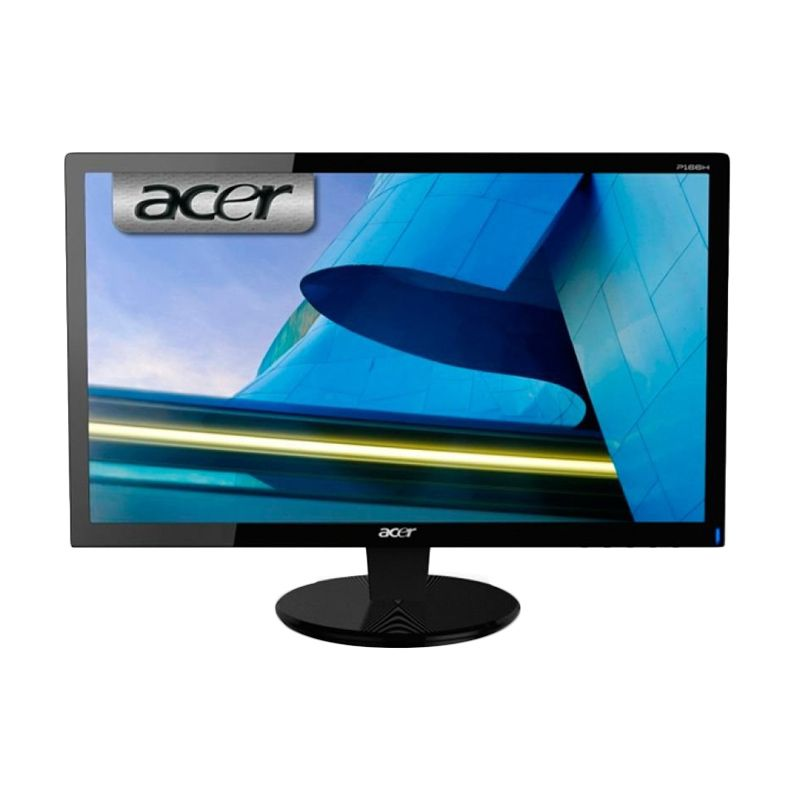 Jual Acer P166HQL Hitam Monitor LED 156 Inch Online