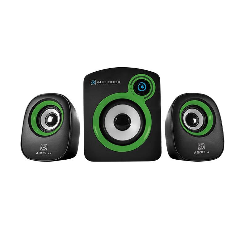 harga AudioBox A300-U Green Speaker Komputer Blibli.com