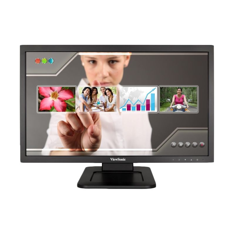 ViewSonic Touch TD2220 Hitam Monitor LED [21.5 Inch]