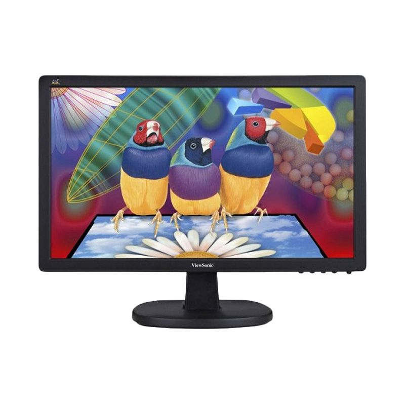 ViewSonic VA1603A Hitam Monitor LED [15.6 Inch]