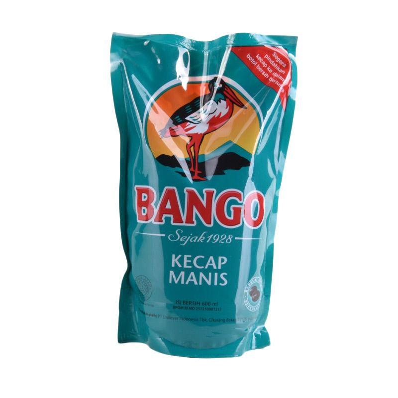 Bango Pouch Kecap Manis [600 ml x 3 pcs]
