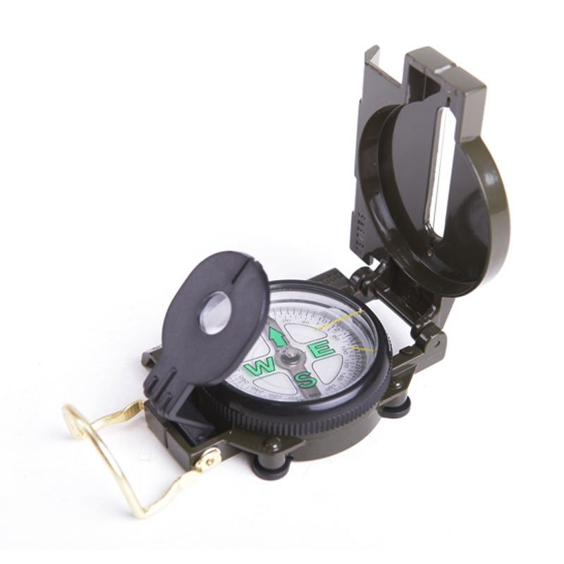 Marching Lensatic Compass KPS 1 Hijau