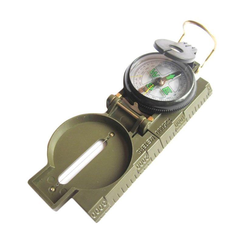 Marching Lensatic Compass KPS 3 Hijau