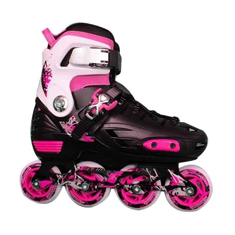 Jual Banwei Bw 135 Sepatu Roda Slalom Skate Pink Black Murah