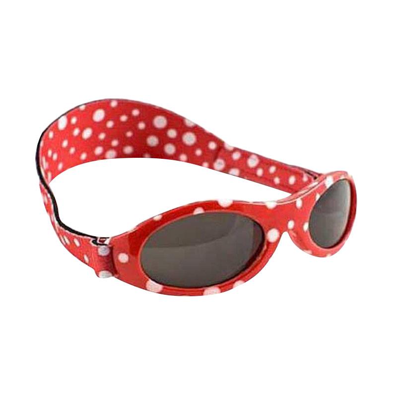 Baby Banz Adventure Kacamata Bayi - Red Dot [0 - 2 Tahun]