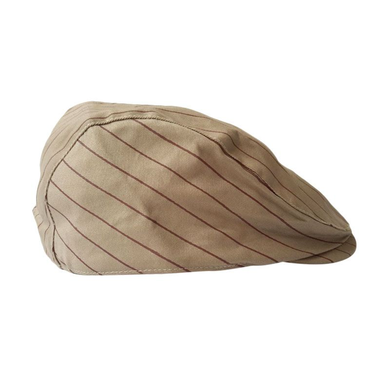 Barbarockfashion Baretta Cream Hat Topi