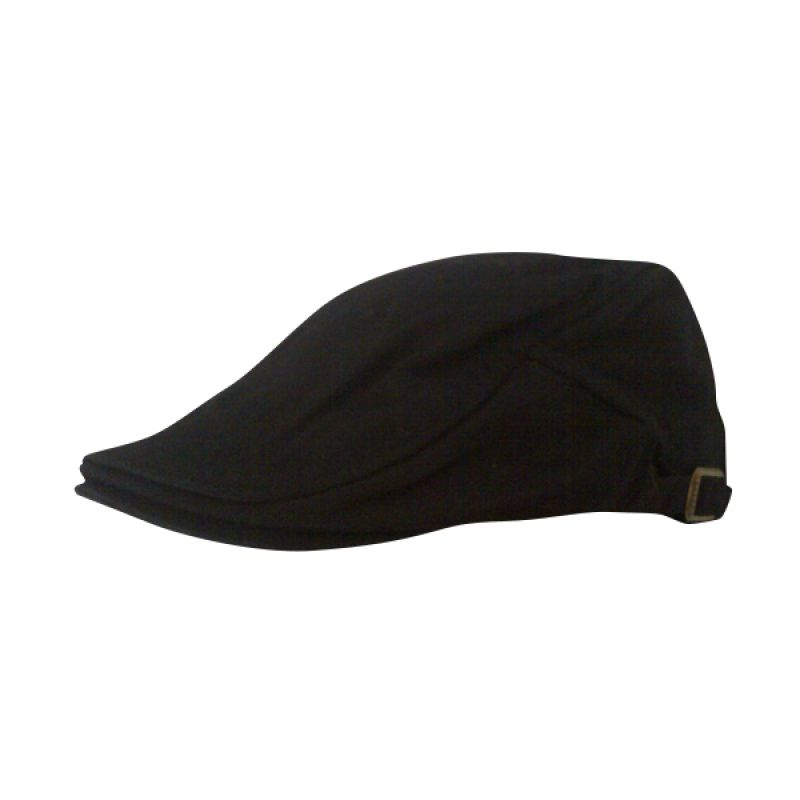 Barbarockfashion Baretta Topi Black