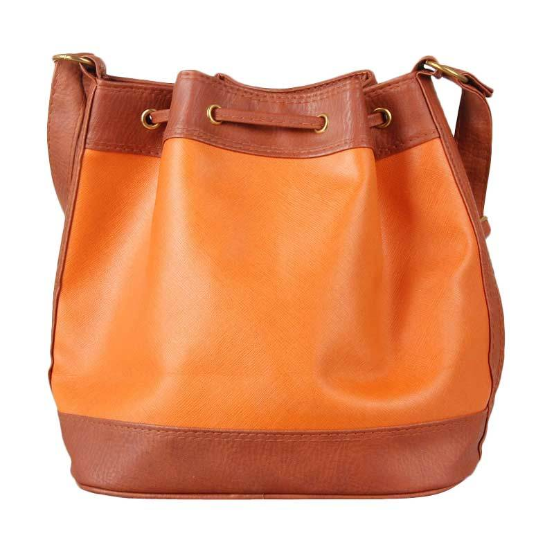 BRB Sling Bag Orange Brown