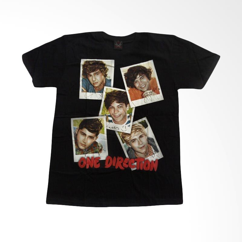 Hot Rock One Direction Foto Hitam
