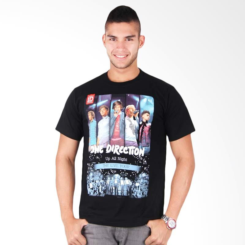 Red One Direction Up All Night Hitam