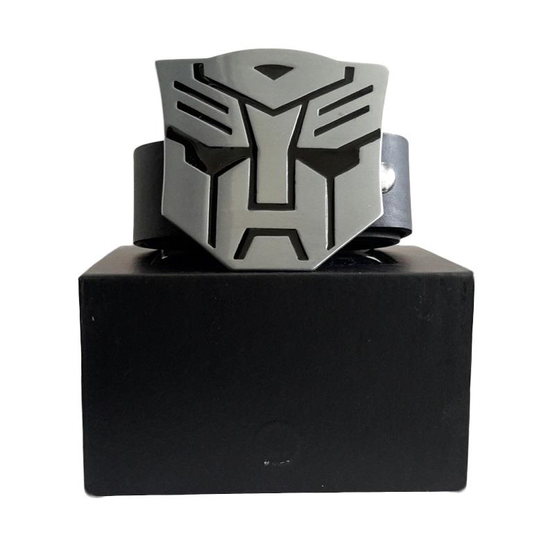 Barbarockfashion Transformers Black Ikat Pinggang Pria