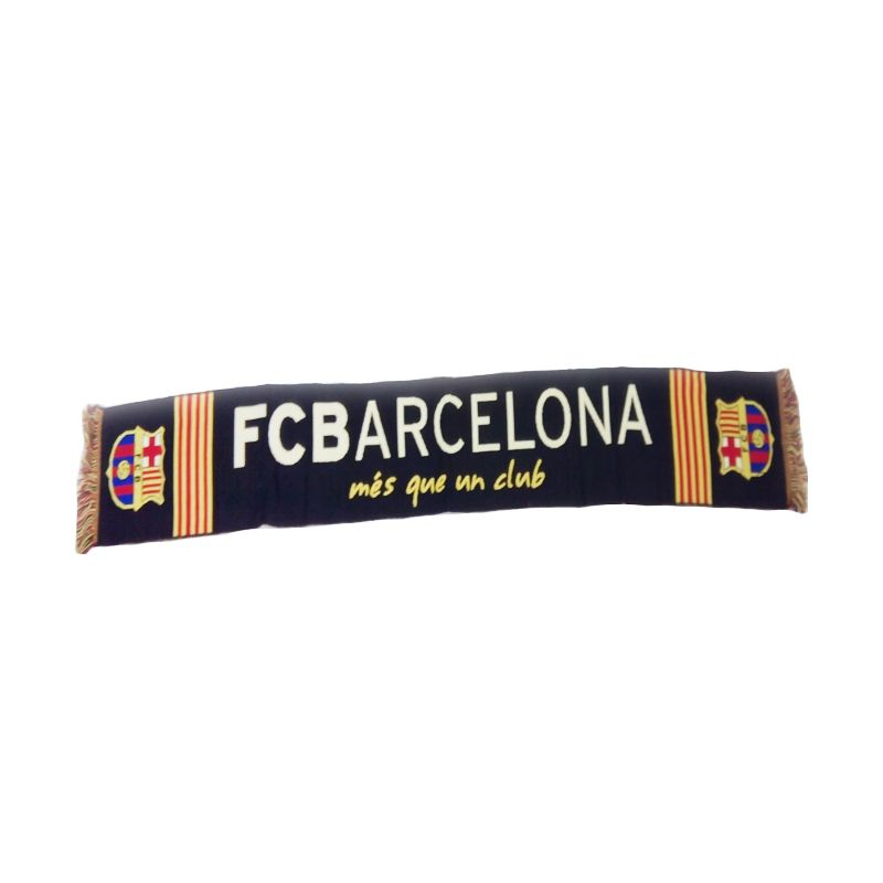 Barcelona Scarf Black/Red/Yellow