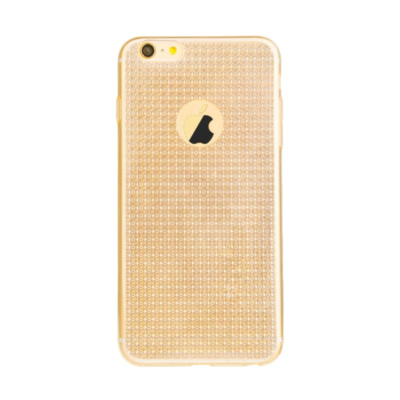 Baseus Bling Casing for iPhone 6 or 6S - Champagne Gold