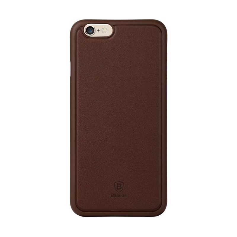 Baseus Comfy Casing for iPhone 6 Plus or 6S Plus - Brown