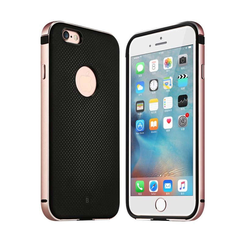 Baseus Earl series Pink Casing for iPhone 6/6S