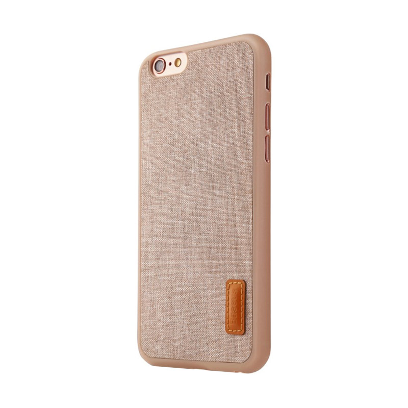 Baseus Grain Casing for iPhone 6 or iPhone 6S - Khaki