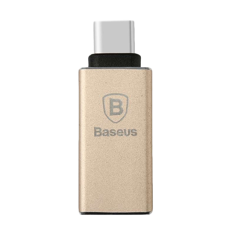 Baseus Sharp Series Type-C Adapter - Champagne Gold