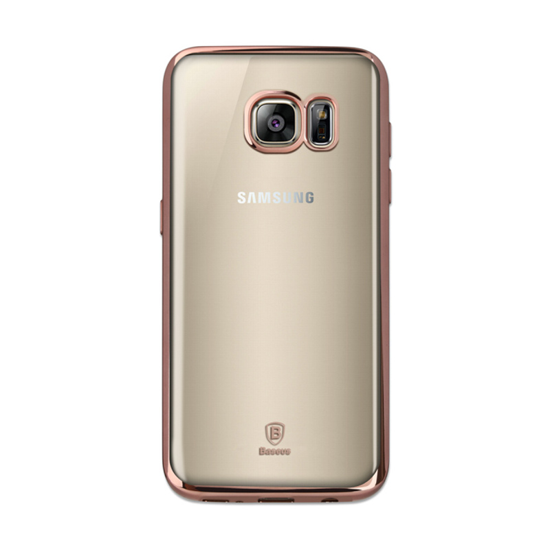 Baseus Shining Casing for Samsung Galaxy S7 - Rose Gold