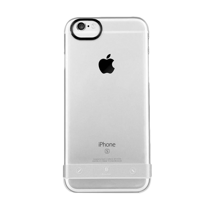 Baseus Sky Metal Silver Casing for iPhone 6 or 6s