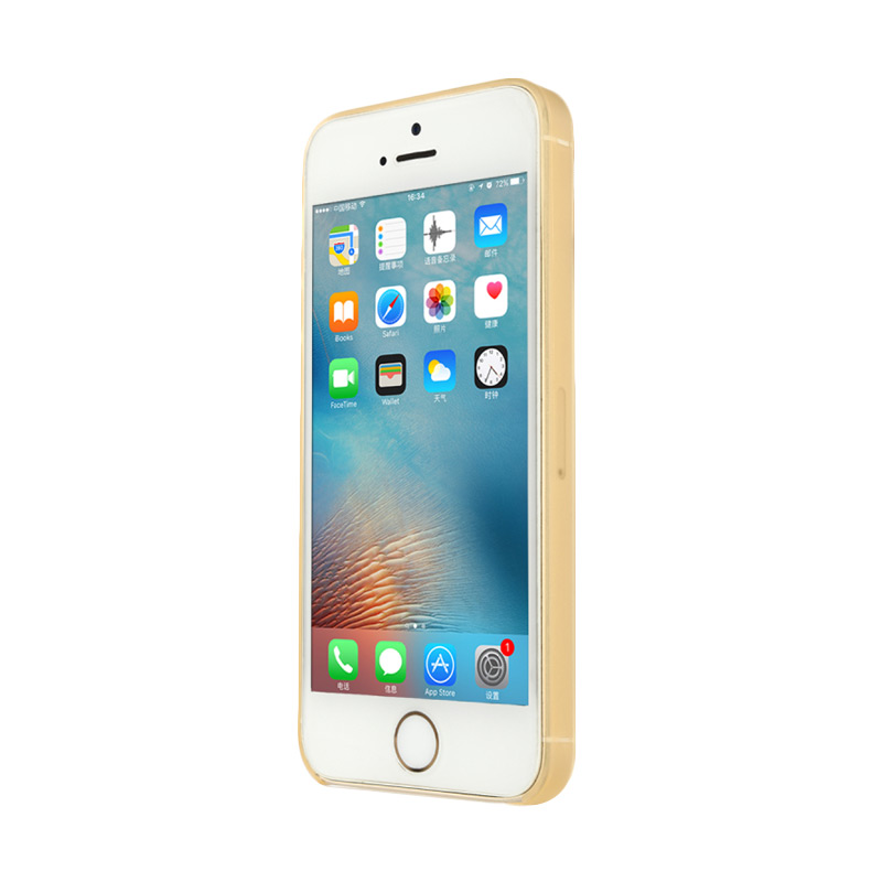 Baseus Slim Casing for iPhone 5/5S/SE - Gold