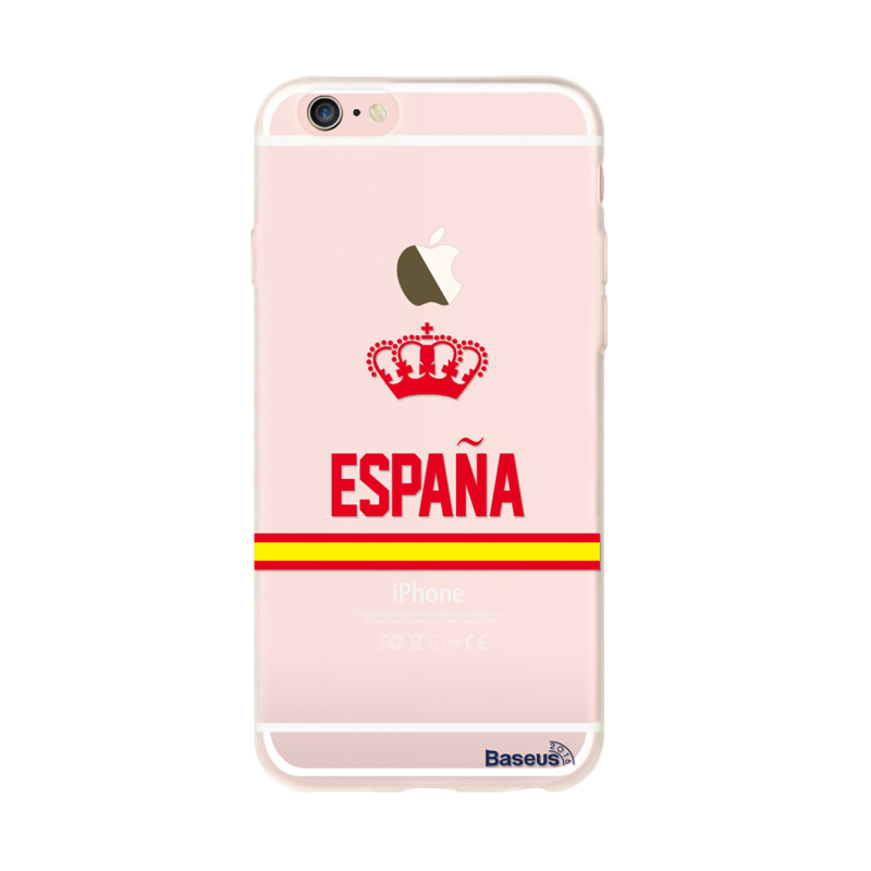 Baseus Soccer Fans Series Spain Casing for iPhone 6 or 6s