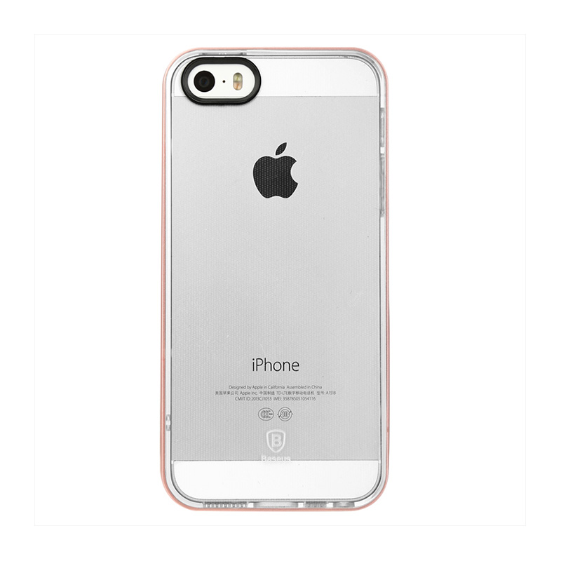 Baseus Soft Feather Series Casing for iPhone 5/5S/SE - Rose Gold