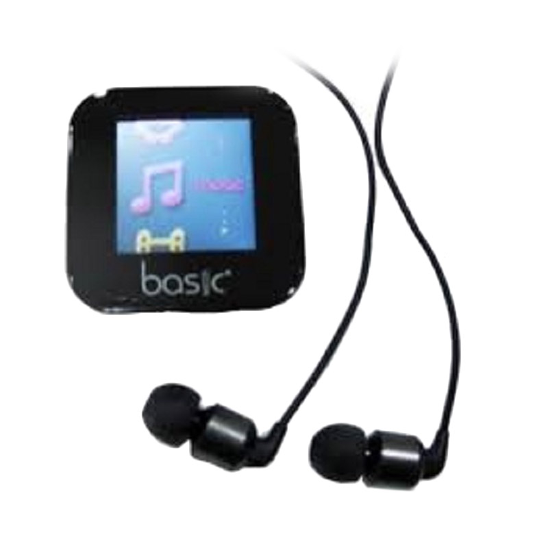 harga Basic Urban MP4 M88 Hitam Music Player Blibli.com
