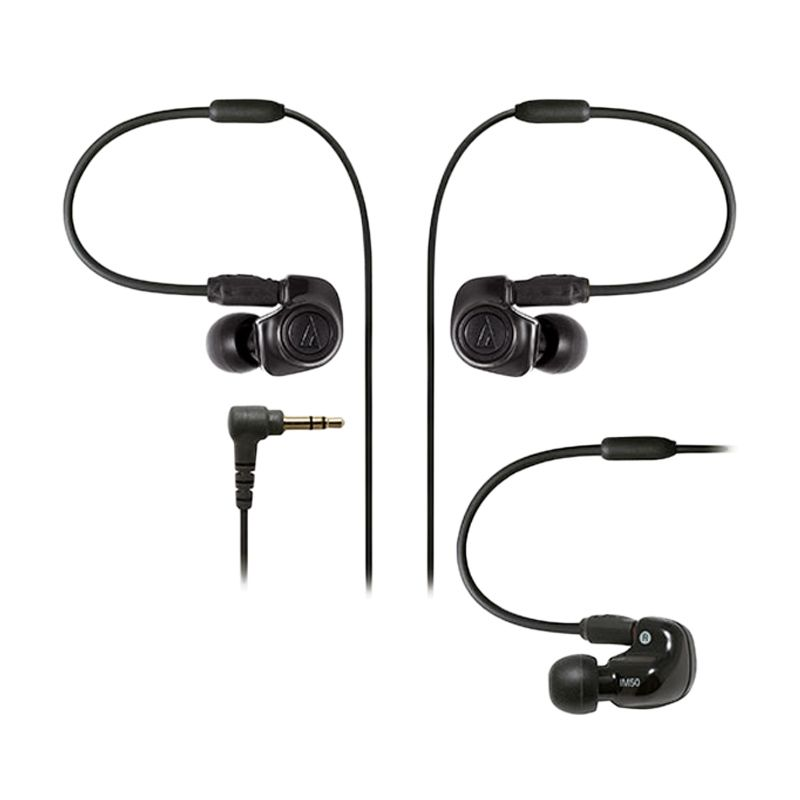 ATH-IM50 Hitam Earphone
