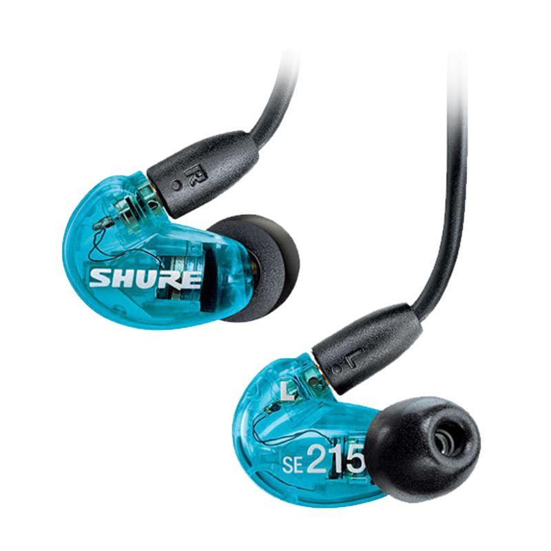 Shure SE215 SPE Biru Earphone