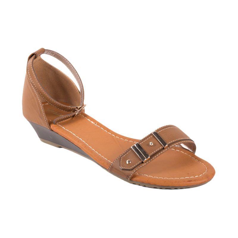 harga Bata Ladies Ulka Camel Sandal Flat Blibli.com