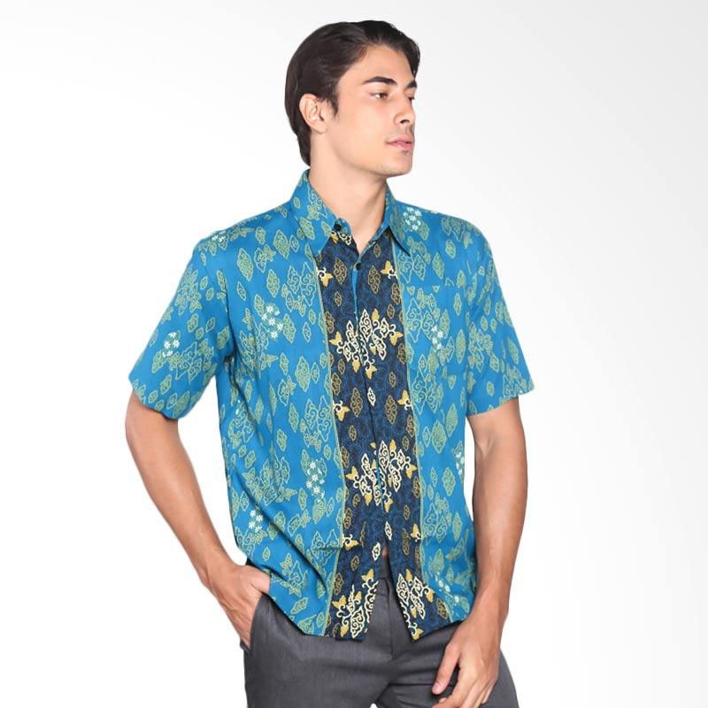 harga Batik Adikusuma 412054026 Men Hem Mega Melati Kemeja Batik Pria - Tosca Blibli.com