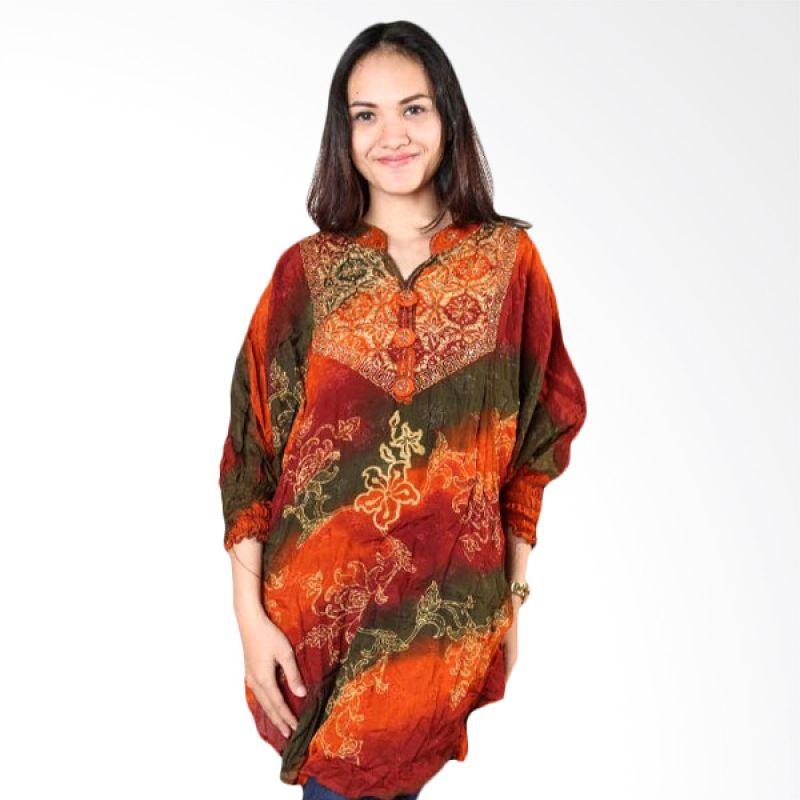 Batik Distro Blus Paris Payet Kelelawar BA0027