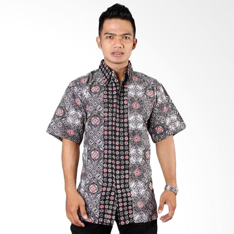 Batik Distro Kemeja Puzzle K6304