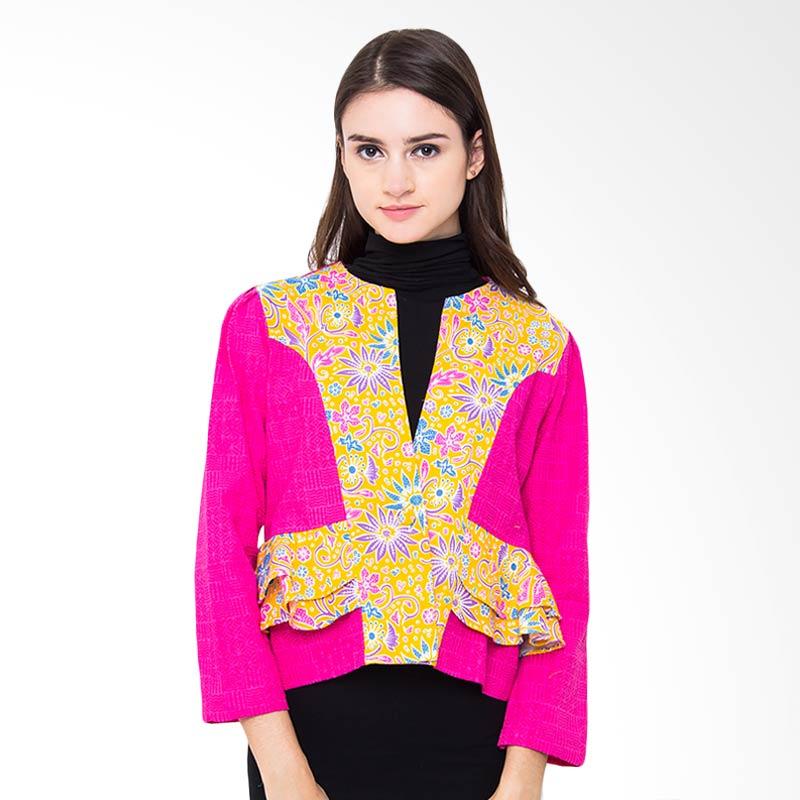 Batik Etniq Craft Kupu Blazer - Pink