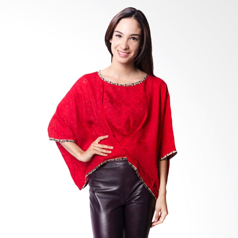 Batik Etniq Solo BL-CS0210 Viscose Blouse