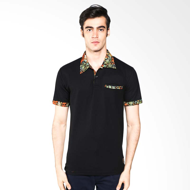 Kamis Ganteng - Polo Batik Heritage Full Color Hitam Atasan Pria Extra diskon 7% setiap hari Extra diskon 5% setiap hari Citibank – lebih hemat 10%