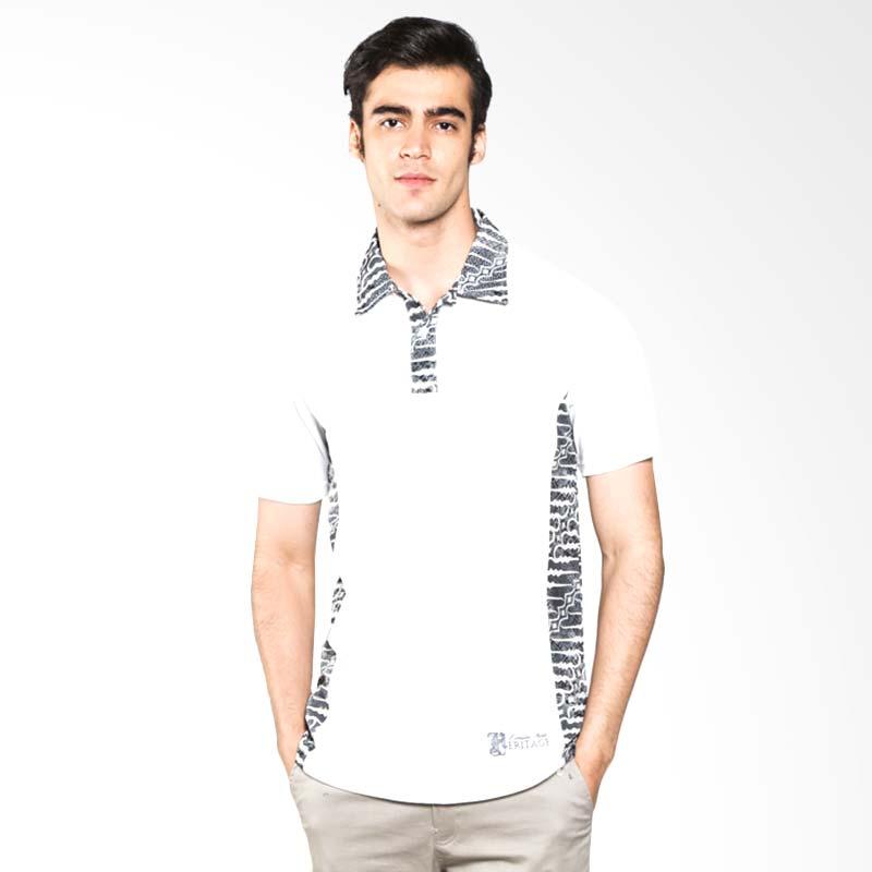 Polo Batik Heritage Parang Atasan Pria - Putih Extra diskon 7% setiap hari Extra diskon 5% setiap hari Citibank – lebih hemat 10%
