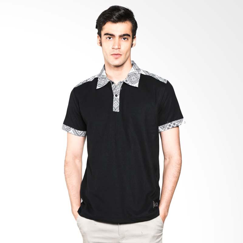 Polo Batik Heritage Square Geometric Atasan Pria - Hitam Extra diskon 7% setiap hari Extra diskon 5% setiap hari Citibank – lebih hemat 10%