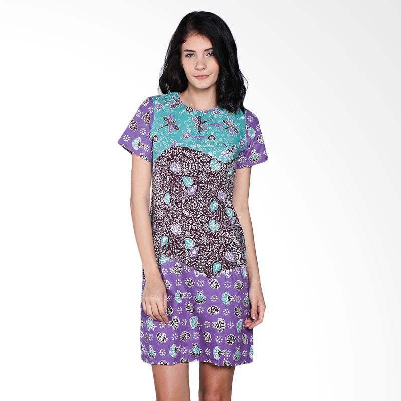 harga Batik Trusmi Dres Katun Motif 3 Dimensi Dress Wanita Blibli.com